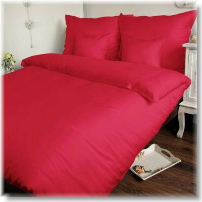 Pink pamutszatén ágyneműhuzat