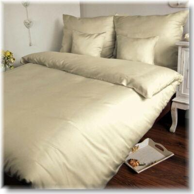 Törtfehér pamutszatén ágyneműhuzat