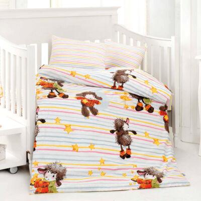 barika narancs gyerek pamut ágyneműhuzat