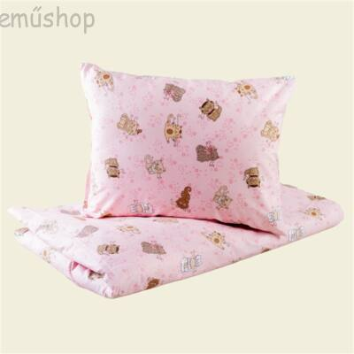 Rózsaszín cicás ovis  ágynemű