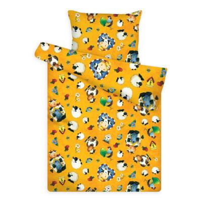 Sárga állatos ovis ágyneműhuzat