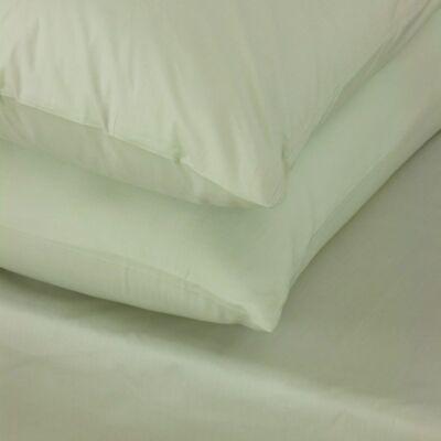 Pezsgő színű mako-szatén kétszemélyes ágyneműhuzat