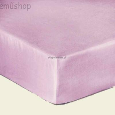 Orgona lila pamutszatén gumis lepedő
