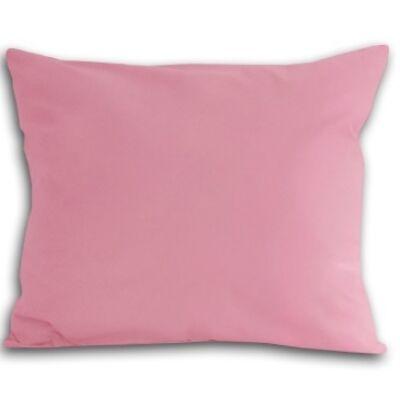 Rózsaszín pamutszatén párnahuzat