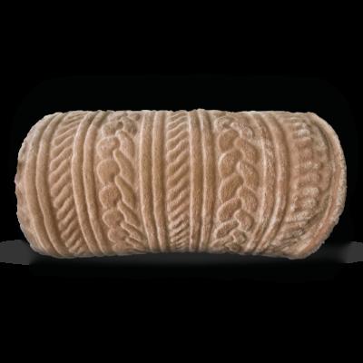 Karamell színű puha mikroszálas pléd