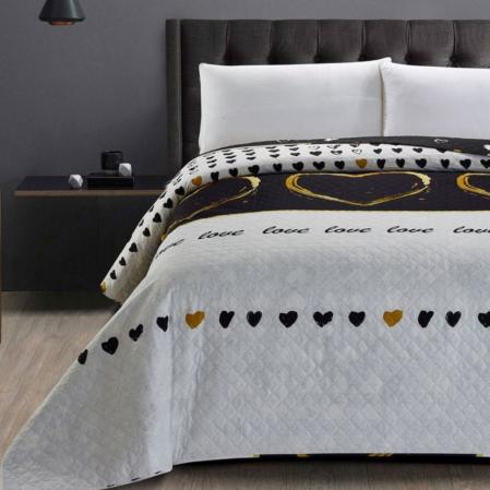 Love kétoldalas  steppelt ágytakaró (170x210)