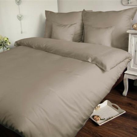 barnás szürke  pamutszatén ágyneműhuzat