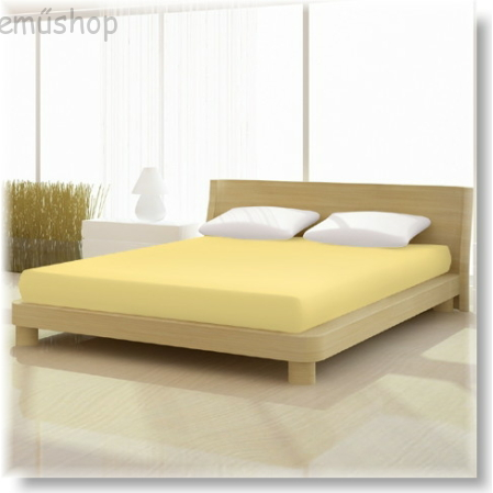 Pamut elasthan de luxe gumis lepedő 140/160x200/220 cm-es matracra