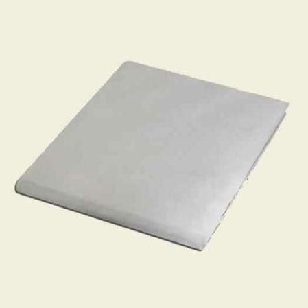 Fehér pamutszatén  lepedő damaszt szövéssel egyszemélyes ágyra