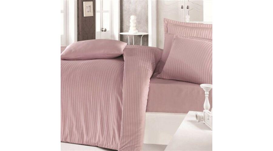 bf3911f6b2 Fáradt rózsaszín csíkos damaszt egyszemélyes ágyneműhuzat - Ajándék ...