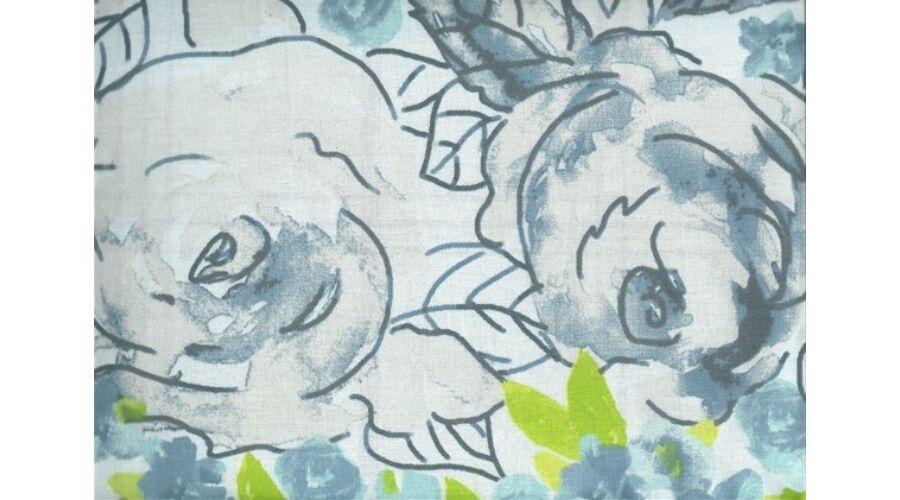 d8aafd8e1f Romantikus kék virágos luxus pamut ágyneműhuzat - Ajándék gyerekeknek