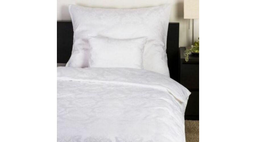 Fehér jacquard mintás damaszt ágynemű - Ajándék 15-20 000 Ft közt 5a01205695