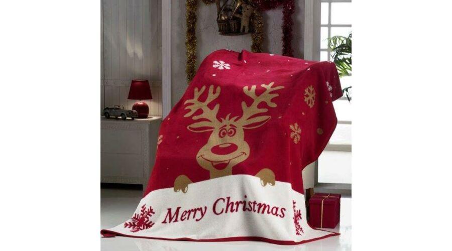 Rudolf rénszarvas karácsonyi pléd Katt rá a felnagyításhoz! 79415e840f